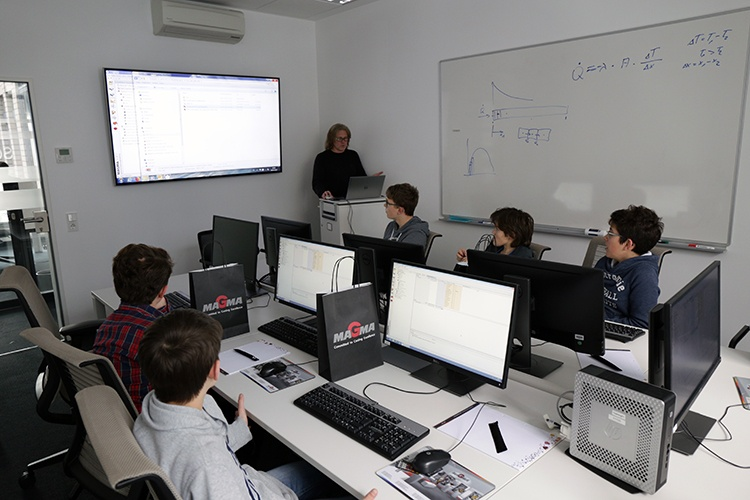 Mini training for the introduction to simulation technology